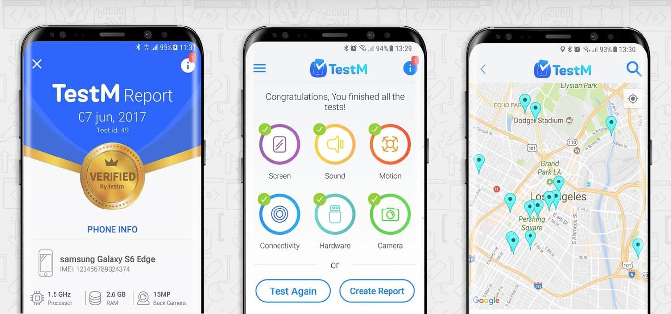 Cómo comprobar que tu teléfono está en perfecto estado con TestM