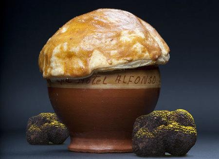 El menú degustación del Hotel Alfonso VIII para las 4ª Jornadas de la Trufa Negra, Soria