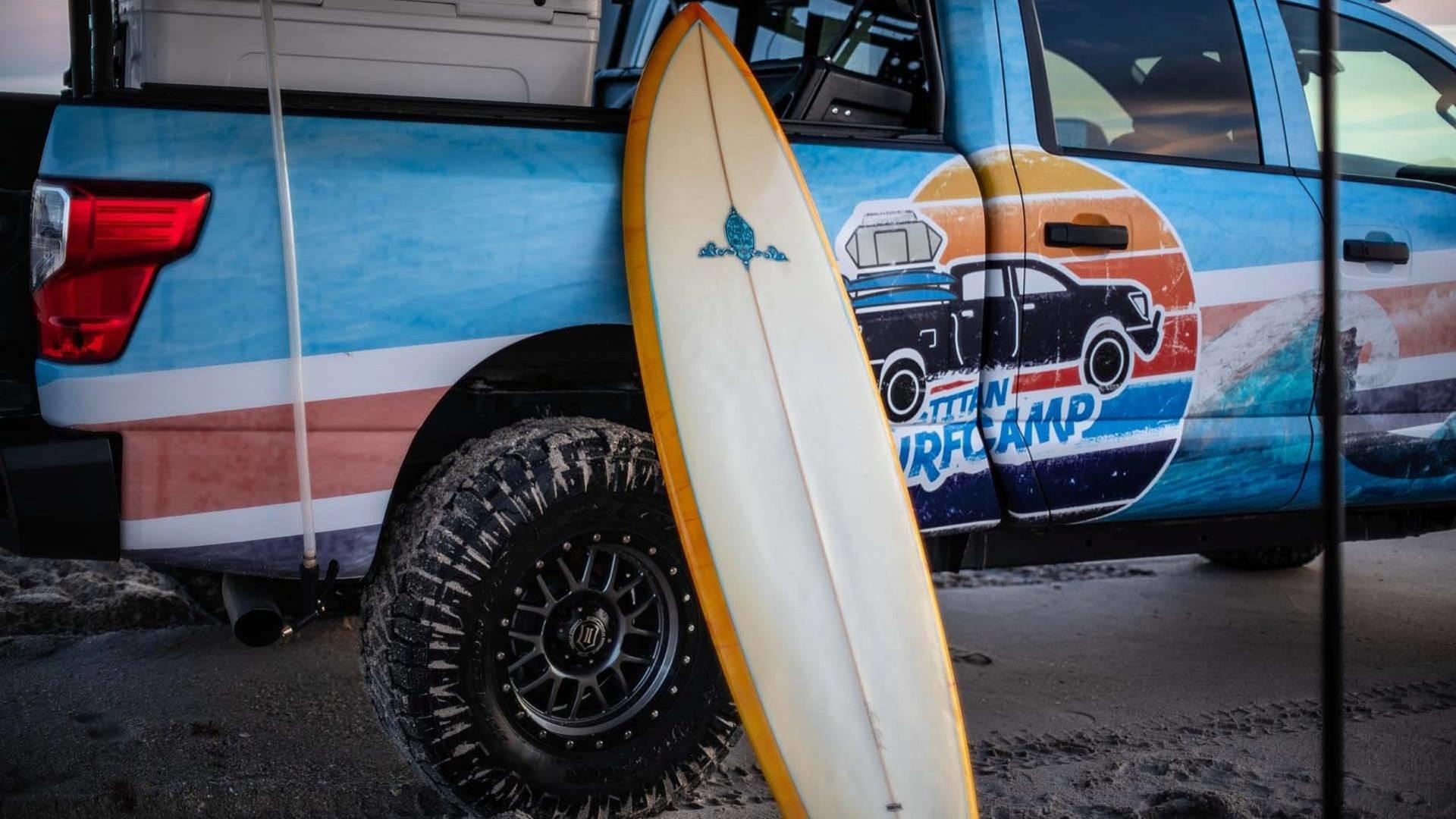 Foto de Nissan Titan XD Surfcamp (13/19)