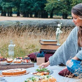 Los juegos de vajillas para ir de picnic más prácticos y bonitos que encontramos en Amazon