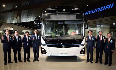 Hyundai se pone al día con la fabricación de autobuses 100% eléctricos ofreciendo 300 kms de autonomía