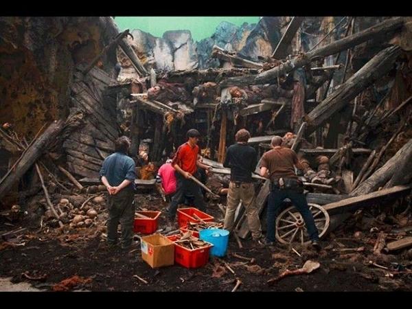 Foto de Fotografías del rodaje de El Hobbit (19/26)