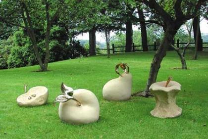 Esculturas De Jardin Asequibles Y Diferentes - Escultura-jardin