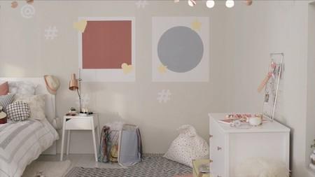 Hazlo tú mismo: Pinta figuras en la habitación del peque