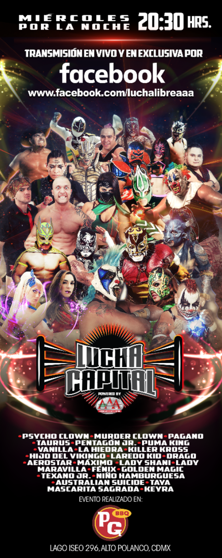Lucha Capital Poster Completo