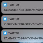Twitter envía por error cientos de notificaciones aleatorias con extraños códigos