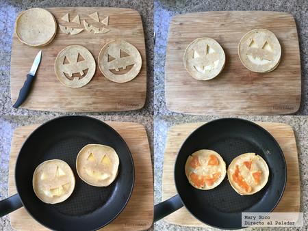 Quesadillas para Halloween Receta