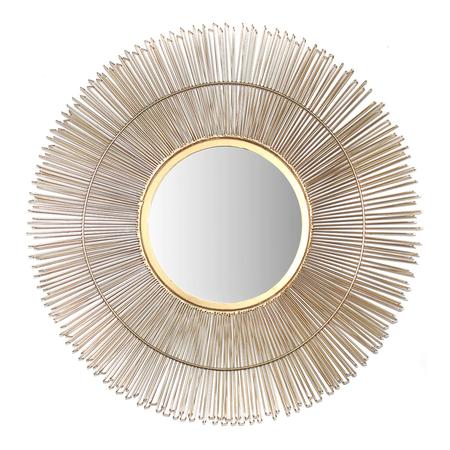 Espejo Decorativo De Pared Redondo Lotus El Corte Ingles