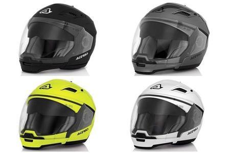 Acerbis Stratos, para quien busca un casco modular sencillo