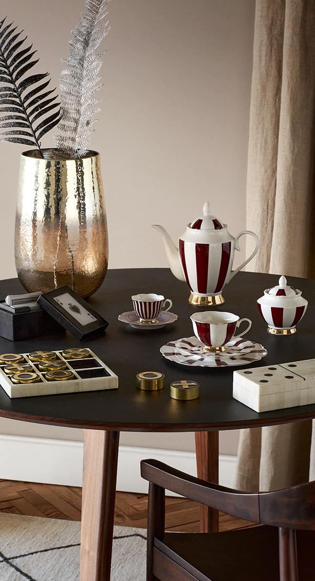 Juego de café y té por piezas
