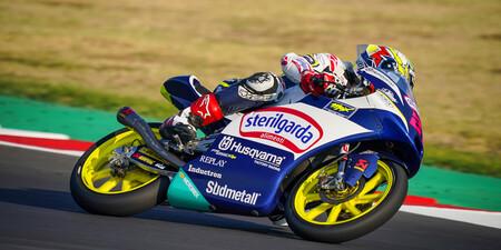 Alonso Lopez Misano Moto3 2020