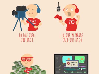 Todo lo que tienes que saber si tu hermano o tu hijo te dicen que quieren ser youtuber