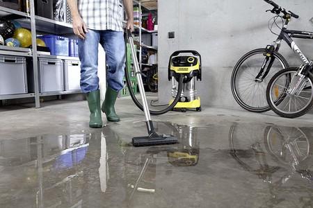 Aspiradora para seco y húmedo Kärcher MV 6 P Premium, con toma de corriente para herramientas eléctricas, a precio mínimo hoy en Amazon