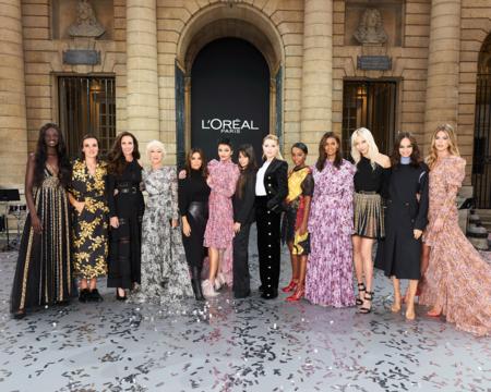 Camila Cabello, Eva Longoria y muchas famosas más, desfilan para L'Oréal durante la Semana de la Moda de París celebrando la belleza inclusiva