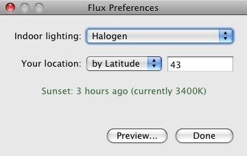 F.lux, regula los colores de tu monitor y descansa tu vista