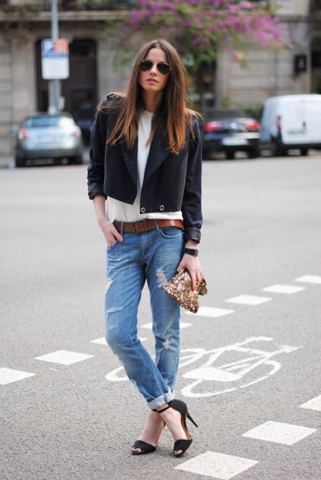 ¡Atención! Parece que los boyfriend jeans se llevan de nuevo