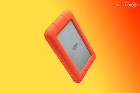 El precio del resistente y compacto disco duro portátil LaCie Rugged Mini de 2 TB para Mac se desploma en Amazon a 84,99 euros