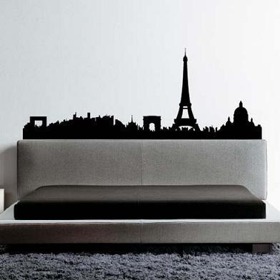 Vinilos con diseños urbanos para las paredes