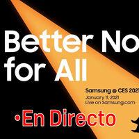 Samsung en CES 2021: sigue la presentación de hoy en directo con nosotros