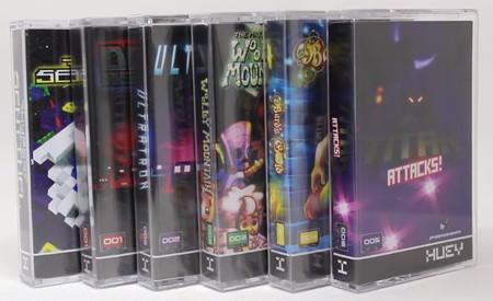 ¿Cintas de cassette que son en realidad pendrives USB con juegos sin DRM? Así es la colección de Huey Games