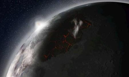 Así era la Luna cuando tenía atmósfera