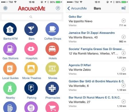 AroundMe, uno de los pioneros ya está listo para iOS 7