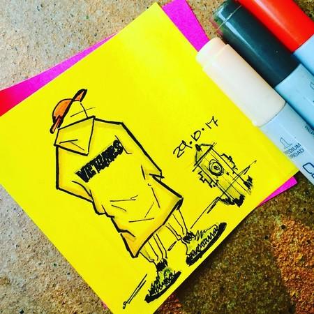 Israel Alberola le sumará color a tu Instagram con sus geniales ilustraciones de moda masculina