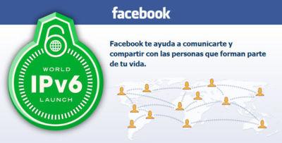 Facebook pondrá en marcha en mayo una web de prueba compatible con IPv6