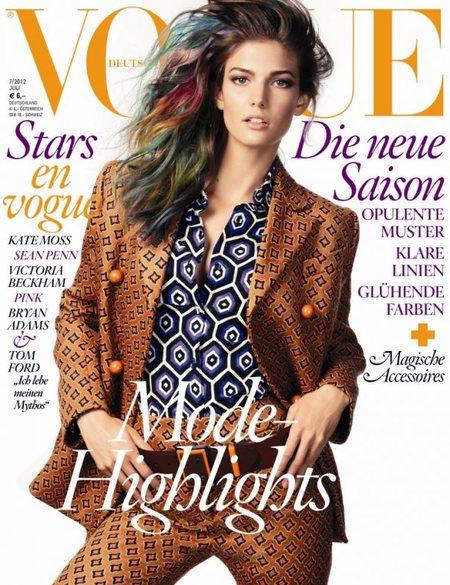 Vogue Alemania y las mechas de colores