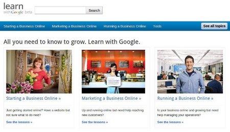 Learn with Google, aprender a trabajar con las herramientas de Google para empresas