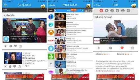 SincroGuía.TV, la programación de las principales cadenas TDT en España en tu mano