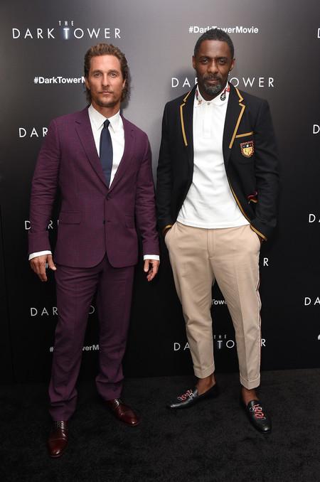 Duelo De Estilo En La Premiere De The Dark Tower Con Matthew Mcconaughey E Idris Elba 2