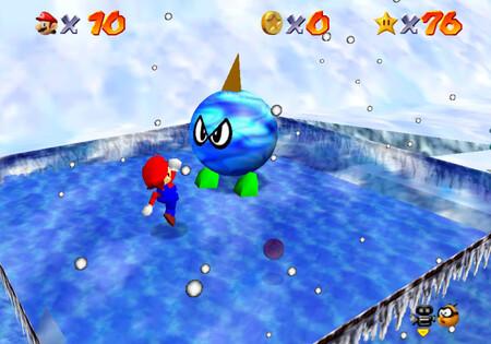 Super Mario 64: cómo conseguir la estrella Chill With the Bully de Snowman's Land