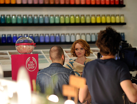 The Body Shop - Lily Cole