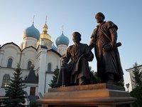 La magia del Kremlin de Kazan, en Rusia