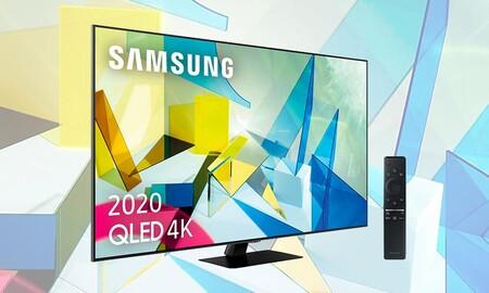Amazon iguala la oferta de El Corte Inglés para la Samsung QE55Q80T: te la deja en 945 euros y te la envía a casa en un día