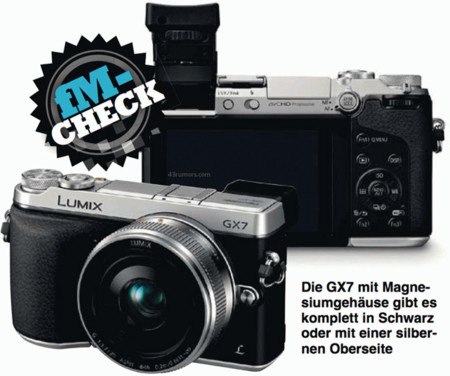 Panasonic Lumix GX7, otra cámara retro por llegar