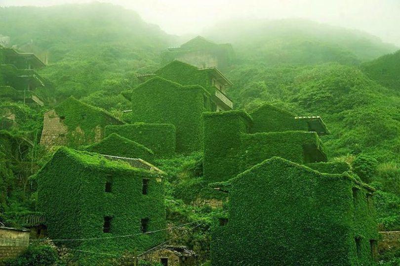 Foto de Pueblo chino invadido por la naturalez (1/7)