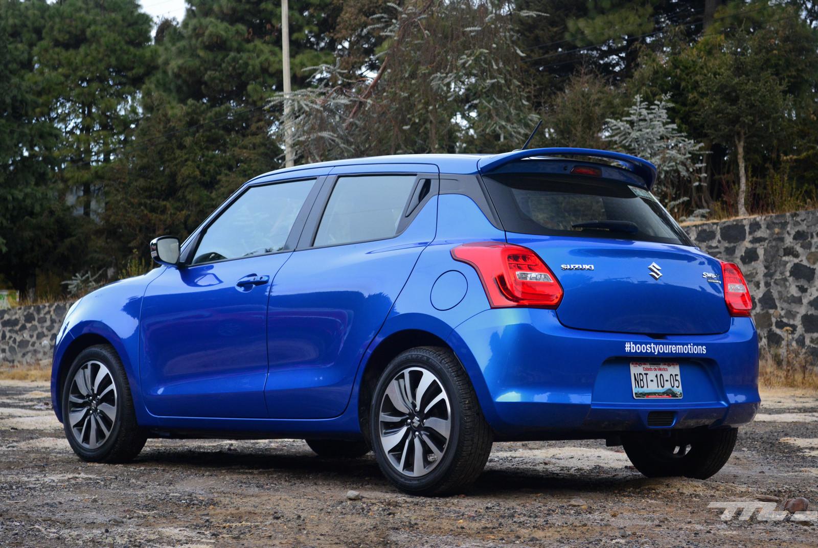 Foto de SEAT Ibiza vs. Suzuki Swift vs. KIA Rio vs. Mazda2 (comparativa) (18/20)