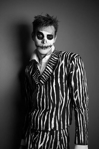 Maquillaje de Halloween para hombre: Jack Skellington