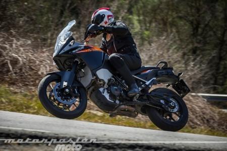 KTM 1050 Adventure, prueba (conducción en ciudad y carretera)