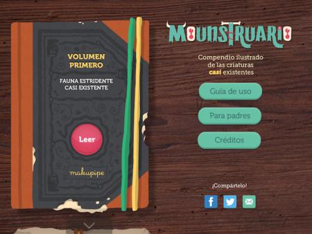 Mounstruarium, un entretenido libro de monstruos muy divertidos para los más jóvenes de la casa