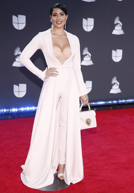 Sarodj Bertin grammys latinos 2019 red carpet