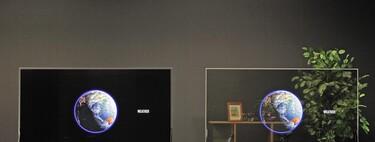 Los nuevos OLED de Panasonic son transparentes y solucionan el tema de la luz: con su modo oscuro dejarán ver lo que hay detrás solo cuando interese