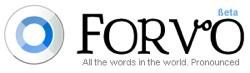 Forvo, directorio colaborativo de pronunciaciones de palabras en diferentes idiomas/categorías
