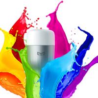 Bombilla inteligente Xiaomi Yeelight Color por 11,37 euros con este cupón