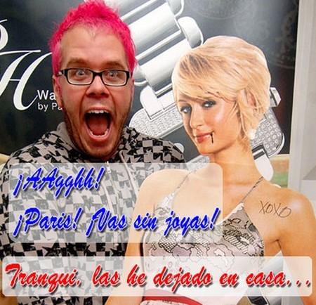 Paris Hilton se queda sin joyas