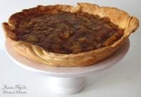 """Pastel """"improvisado"""" de manzana, almendras y moscatel. Receta"""
