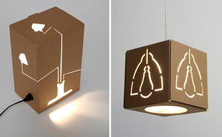 No es una lámpara, no es una caja