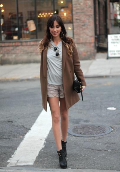 Nina Naya look otoño Moda en la calle